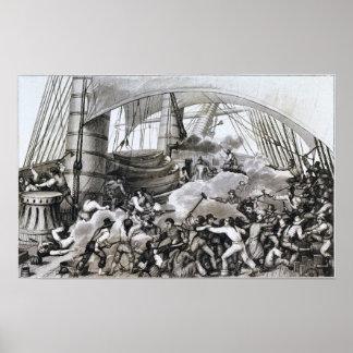 El embarque de Tritón Posters