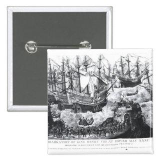 El embarque del Enrique VIII en Dover Pins