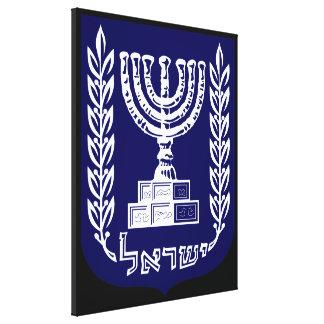 El emblema de Israel - versión del Knesset Impresión En Lona