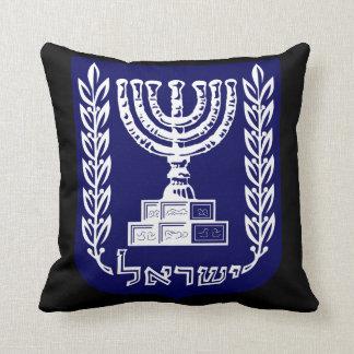 El emblema de Israel - versión del Knesset Cojines