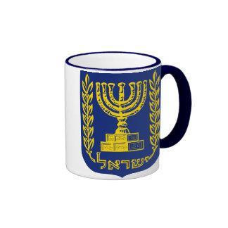 El emblema de Israel - versión del Tribunal Suprem Tazas