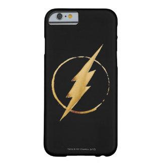 El emblema el | amarillo de destello del pecho funda barely there iPhone 6
