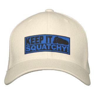 ¡El *EMBROIDERED* azul lo guarda Squatchy! - Bobo Gorro Bordado