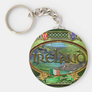 El Emerald Isle Llavero Redondo Tipo Pin