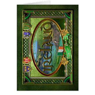 El Emerald Isle Tarjeta De Felicitación