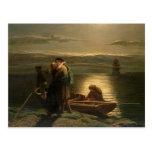 El emigrante, 1858 postales