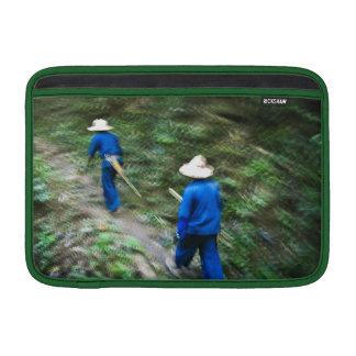 El emigrar a través de la selva tailandesa fundas para macbook air