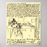 El ~ Emily de Brontes y papel del diario de Anne r Posters