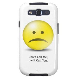 """El Emoticon tonto """"no me llama """" Galaxy S3 Cobertura"""