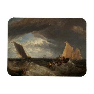 El empalme del Thames y del Medway, 1807 Imán