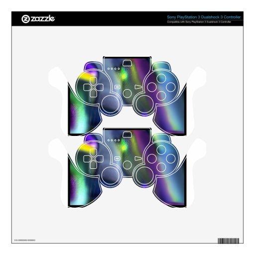El empañar abstracto mando PS3 skin