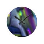 El empañar abstracto relojes