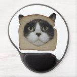 El empanar empanado del gato de Inbread Alfombrilla De Ratón Con Gel