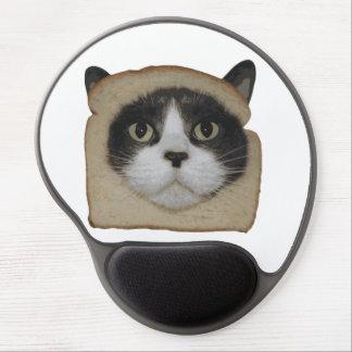 El empanar empanado del gato de Inbread Alfombrilla Gel