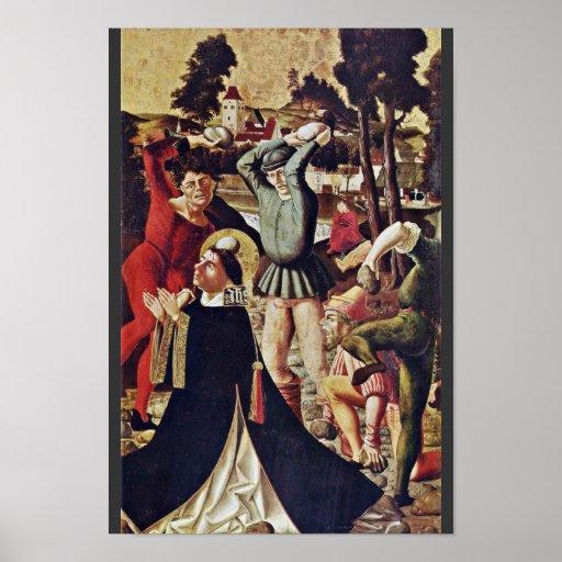 El empedrar de St Stephen de Reichlich Marx (el me Póster