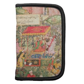El emperador Babur del portalámparas gigante recib Planificadores