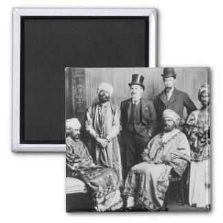 El emperador de Abyssinia y de su Court Imán Cuadrado