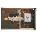 El emperador Napoleon en su estudio en el Tuilerie iPad Cobertura
