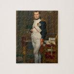 El emperador Napoleon en su estudio en el Tuilerie Rompecabezas