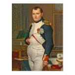El emperador Napoleon en su estudio en el Tuilerie Postales