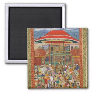 El emperador que da la bienvenida Jahangir de la c Imanes Para Frigoríficos