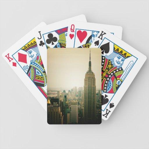 El Empire State Building Baraja Cartas De Poker