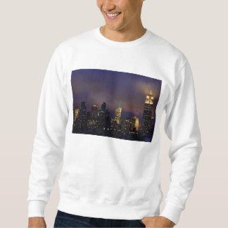 El Empire State Building brilla intensamente en Suéter