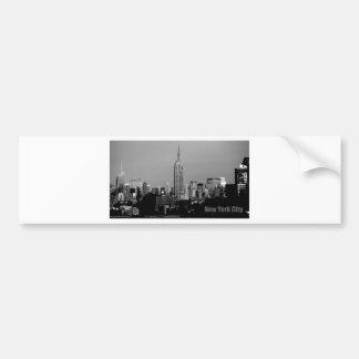 El Empire State Building Etiqueta De Parachoque