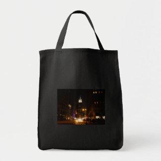El Empire State Building en la noche Bolsa