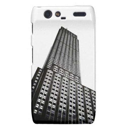 El Empire State Building Motorola Droid RAZR Carcasas
