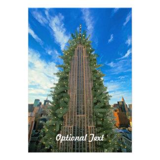 El Empire State Building Morphed en el árbol de na Anuncio
