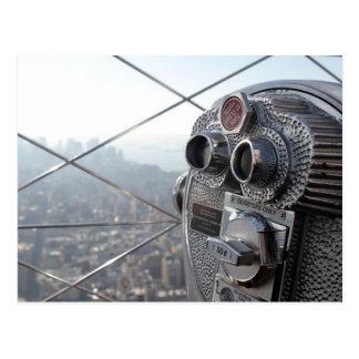 El Empire State Building, New York City, los E.E.U Postal