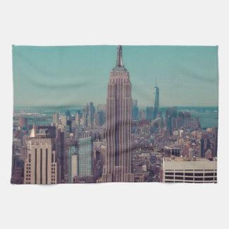 El Empire State Building Toalla De Cocina