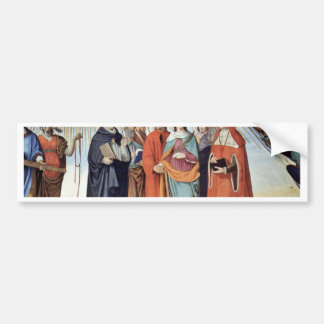 El empíreo y las figuras de los ocho cielos etiqueta de parachoque