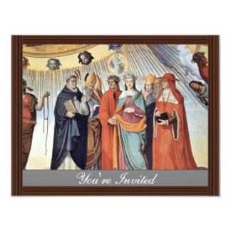 El empíreo y las figuras de los ocho cielos invitación personalizada