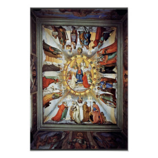 El empíreo y las figuras de los ocho cielos poster