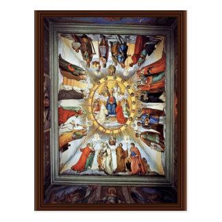 El empíreo y las figuras de los ocho cielos tarjeta postal