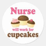 El empleo trabajará para la enfermera de las magda pegatinas