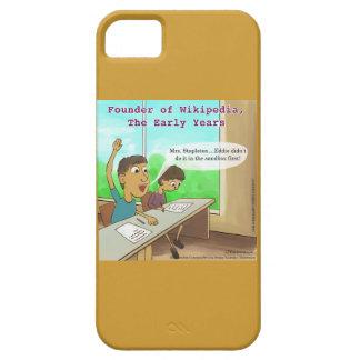El empollón embroma el caso divertido del dibujo iPhone 5 fundas