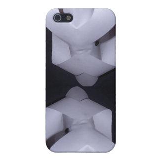 El empollón juega el arte y el diseño de 4 Cricket iPhone 5 Coberturas