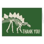 El empuje del dinosaurio le agradece felicitación