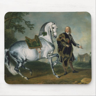 """El en Dappled Piaffe de """"Scarramuie"""" del caballo Alfombrillas De Ratón"""