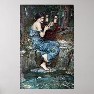 El encantador - Waterhouse Póster