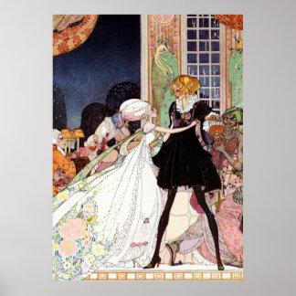 El encantar de Kay Nielsen de príncipe y Cenicient Impresiones