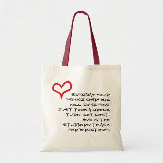 El encantar de príncipe bolsa tela barata