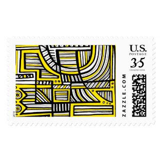 El encantar estimado transformativo timbre postal