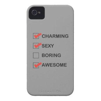 El encantar iPhone 4 Case-Mate cárcasas