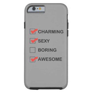 El encantar funda de iPhone 6 tough