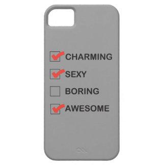El encantar funda para iPhone 5 barely there