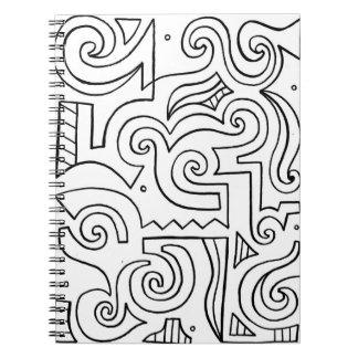 El encantar protegido de donante instintivo libro de apuntes con espiral
